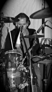 Jens am Schlagzeug