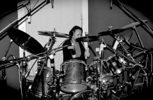Jens am Schlagzeug_