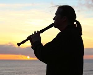 Volker mit Flöte